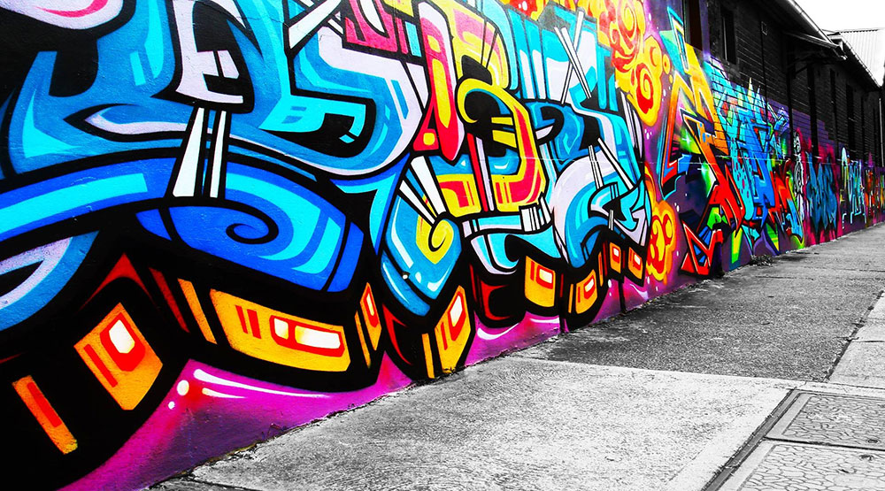 hip-hop graffiti